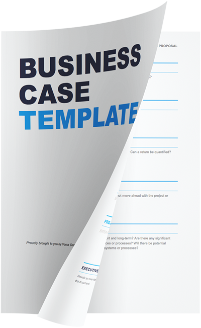 Simple business case template vocus communications business case template download template now wajeb Image collections
