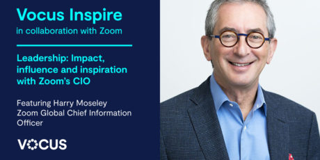 Leadership  Impact Influence And Inspiration With Harry Moseley Zoom Global Chief Information Officer